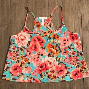Ambiance apparel loose fitting crop top